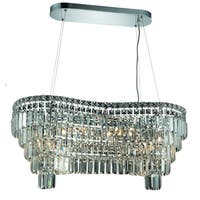 Fleur Illumination Collection Chandelier L:32 in W:16in H:13in Lt:14 Chrome Finish