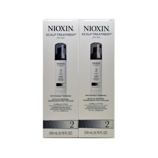 Nioxin System 2 6.8-ounce Scalp Treatment for Fine Thinning Hair (Pack of 2)