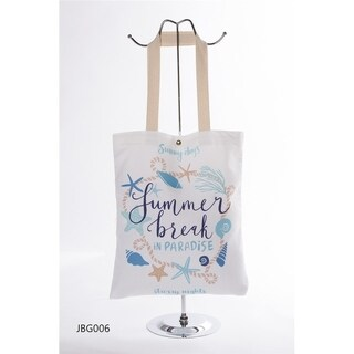 BYOS Eco Concept Graphic Shoulder Tote Bag