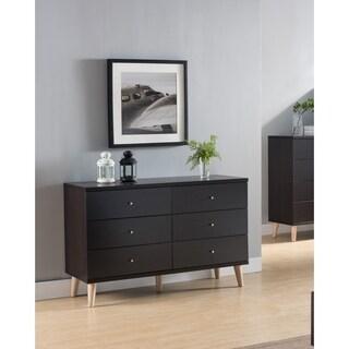 Carson Carrington Gjovik Contemporary Cappuccino 6-drawer Dresser