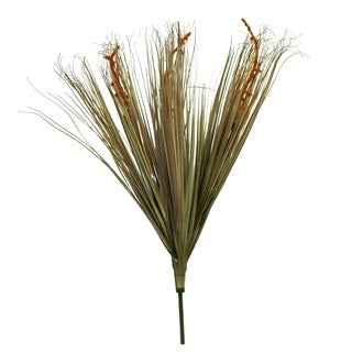 """29"""" Tall Pvc Grass With Willow - Brown"""