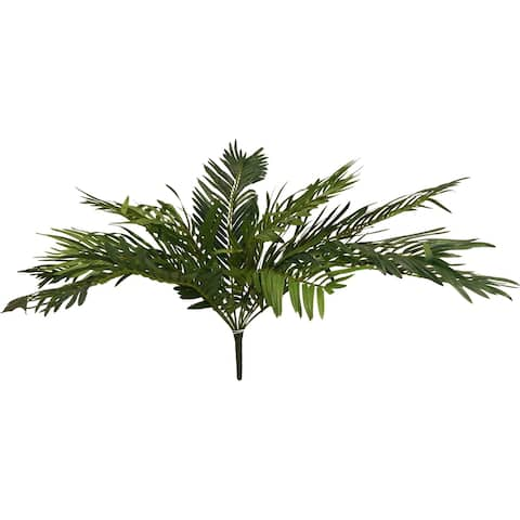 """26"""" Cycas Bush X 12 With 552 Leaves - Green"""