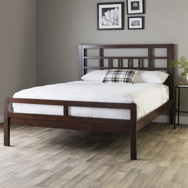 Bello Walnut Cherry Queen-size Bed