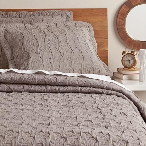 Daniella Grey Cotton Quilt