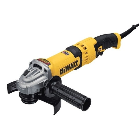 DeWalt 4.5-6 in. Dia. Small Corded 13 amps 9,000 rpm 120 volts Angle Grinder