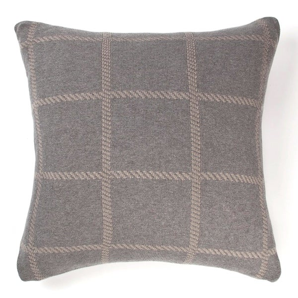Cottage Home Olive Cotton 22 Inch Throw Pillow