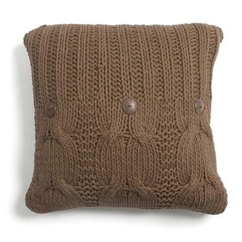 Kable Knit Throw Pillow