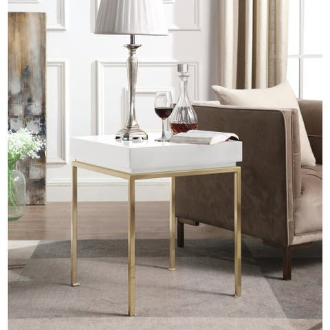 Chic Home Sabrina Side Table Square Frame
