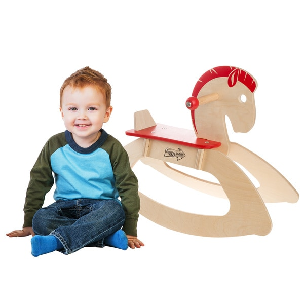 Happy Trails Rocking Horse Ride-on Toy
