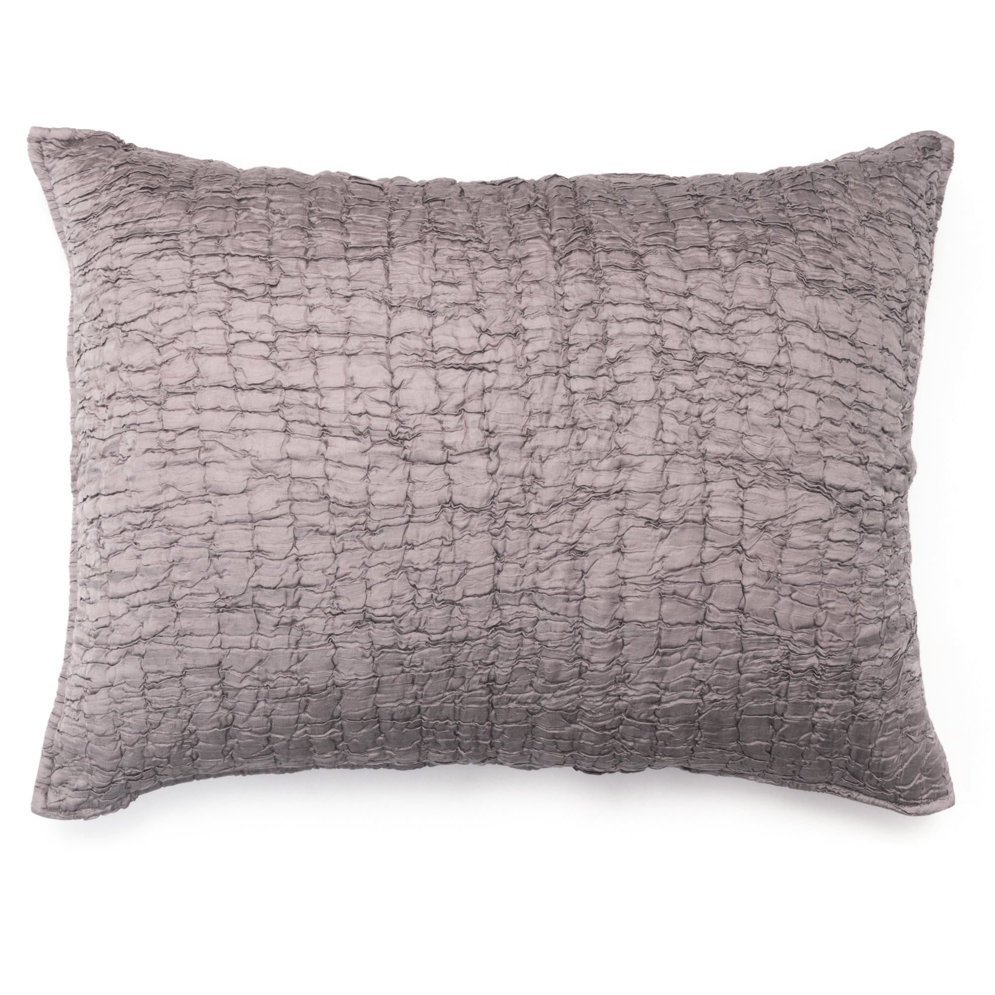The Pillow Collection Jessamine Bedding Sham Coral White King//20 x 36