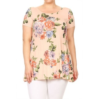 Women's Plus Size Floral Pattern Top (More options available)