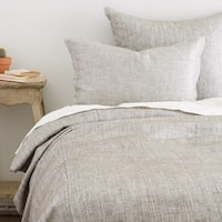 Sebastan Grey Cotton Duvet Cover