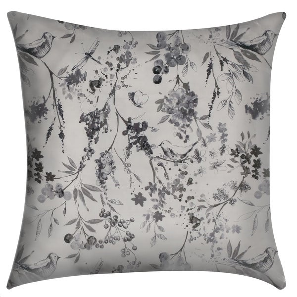 Songbird 20-inch Decorative Throw Pillow