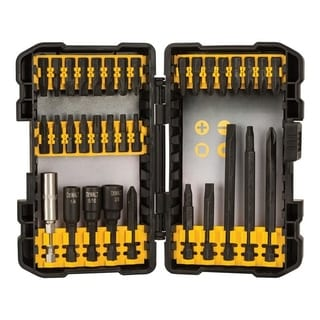 DeWalt  Multi Size in. Dia. Impact Ready Bit Set  34 pc.