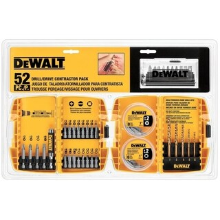DeWalt Multi Size in. Screwdriver Bit 52 pc.
