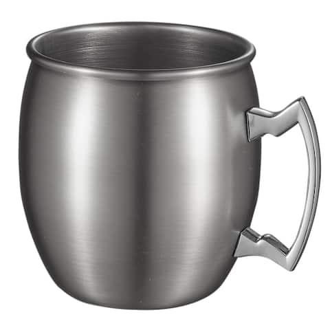 Visol Kremlin Brushed Nickel Finish Moscow Mule Mug