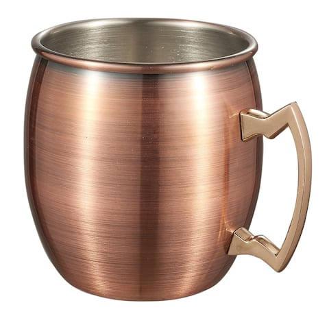 Visol Kremlin Brushed Copper Finish Moscow Mule Mug