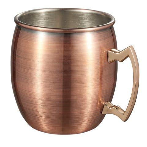 Visol Kremlin Brushed Copper Finish Moscow Mule Mug