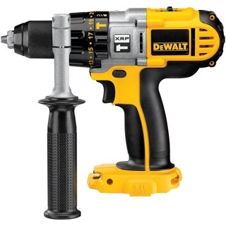 DeWalt XRP 18 volts 1/2 in. Metal Ratcheting Cordless Hammer Drill/Driver