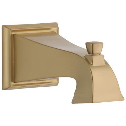 Delta Dryden Tub Spout - Pull-Up Diverter Champagne Bronze