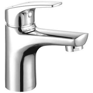Delta Modern Chrome Single Handle 1.20 Gpm Project-pack Lavatory Faucet