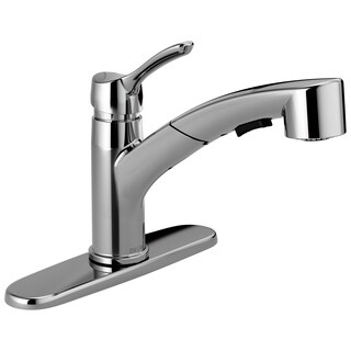 Delta Collins Single Handle Tract-pack Pull-out Kitchen Faucet
