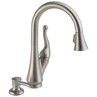 Talbott Single Handle Pull-down Kitchen Faucet and Soap Dispenser