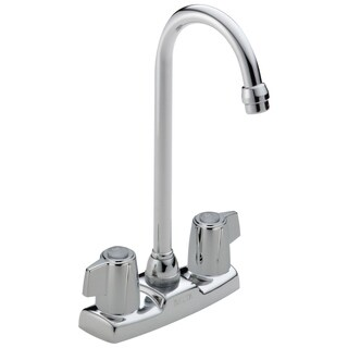 Classic Chrome 2-handle Centerset Bar/ Prep Faucet