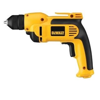 DeWalt 8 amps 3/8 in. Keyless 2500 rpm VSR Corded Drill