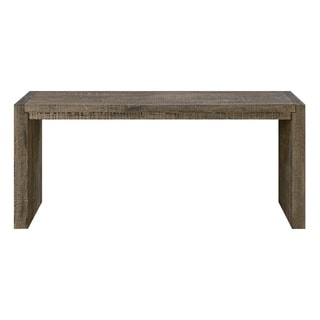 Strick & Bolton Andina Tobacco Brown Sofa Table