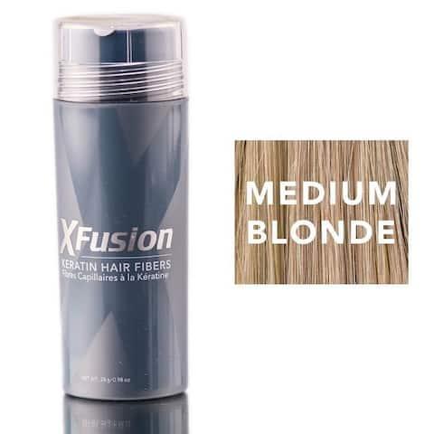 XFusion 0.98-ounce Medium Blonde Keratin Hair Fibers