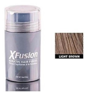 XFusion 0.53-ounce Light Brown Keratin Hair Fibers