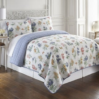 Lenox Butterfly Meadow 3pc Quilt Set