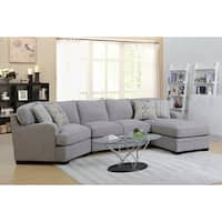 Emerald Home Willow Creek Pebble Brown 2Pc Sectional