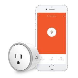 Elf Smart Plug by Eques - Compatible with Alexa & Google Home - WiFi/App Enabled - UL Certified - Fireproof Material (1 Pack)