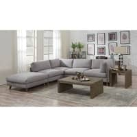 Emerald Home Macyn Dove Gray 5Pc Modular Sectional