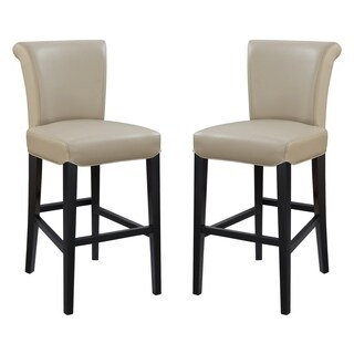"Emerald Home Briar III wheat grass 30"" bar stool D109-30-05-2PK-K (Set of 2) (2 options available)"