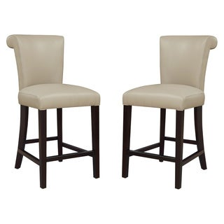 "Emerald Home Briar III Wheat Grass 24"" Bar Stool (Set Of 2)"