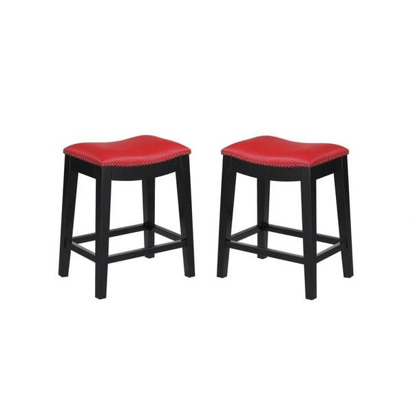 Shop Emerald Home Briar Elephant Gray 24 Bar Stool With Faux