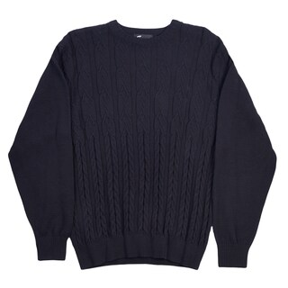 Tosani Men's 100% Cotton Crew Neck Sweater. (2 options available)