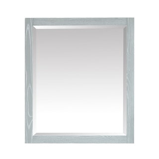 "Azzuri Riley 28 in. Framed Wall Mirror - 28""W x 32""H"