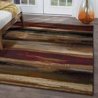 Copper Grove Chugach Red Area Rug