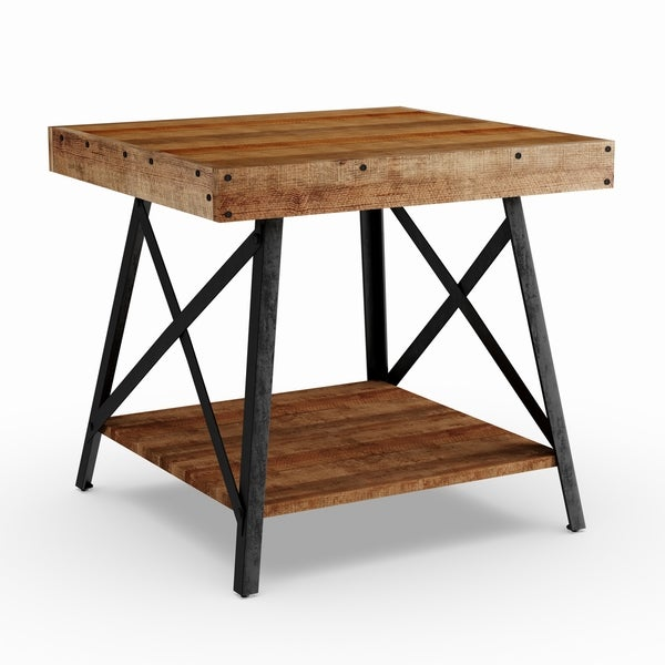 Shop Carbon Loft Oliver Reclaimed-look Wood End Table