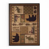 Pine Canopy Tonto Forest Nature Area Rug - 7'10 x 10'6