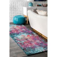 The Curated Nomad Stella Multicolor Abstract Area Rug