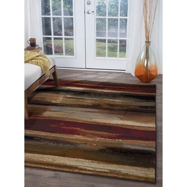 shop pine canopy chugach contemporary abstract area rug 4 x 6