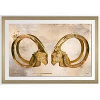 """BY Jodi """"Eye To Eye 1"""" Framed Acrylic Wall Art Decor"""