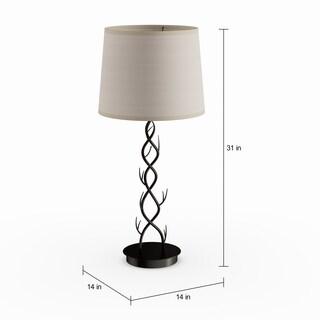 Carbon Loft Whitney Bronze 31.13-inch Outdoor Floor Lamp