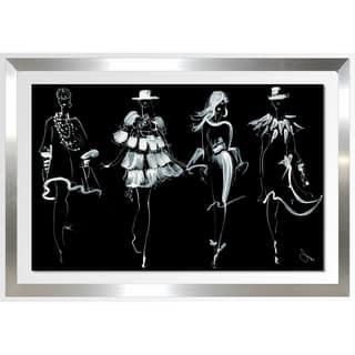 "BY Jodi ""Runway (2)"" Framed Acrylic Wall Art Décor"