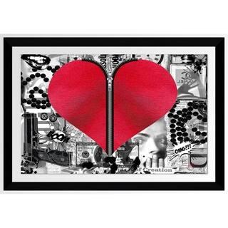 "BY Jodi ""Love Hurts"" Framed Acrylic Wall Art Decor"